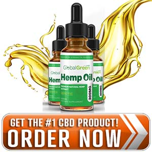Global Green CBD Hemp Oil - Reduce Pain, Stress, And More